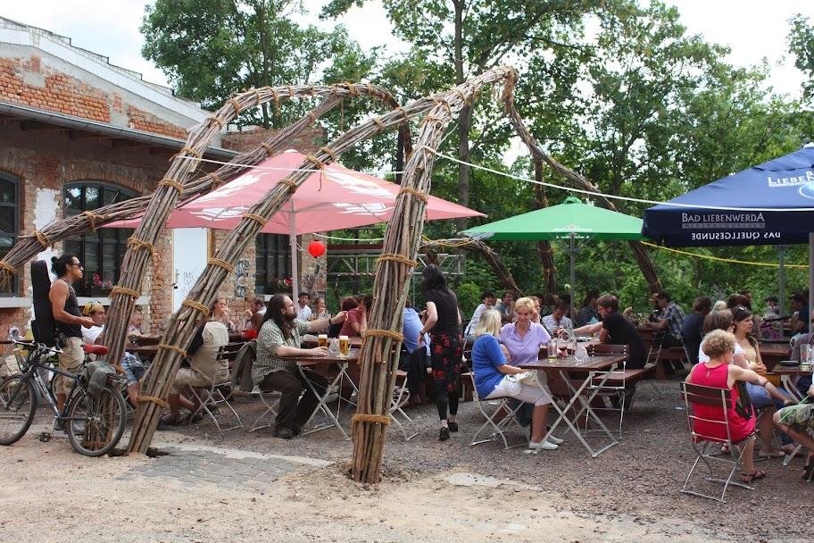 Wamslergarten - Biergarten im Westwerk