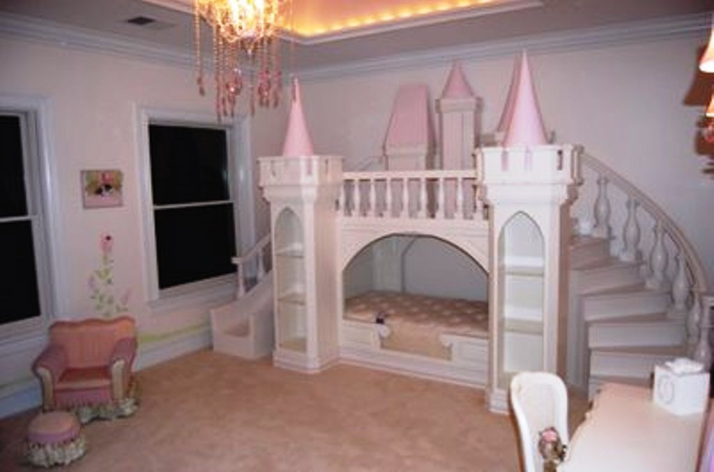Que menina n?o amaria um quarto de princesa?