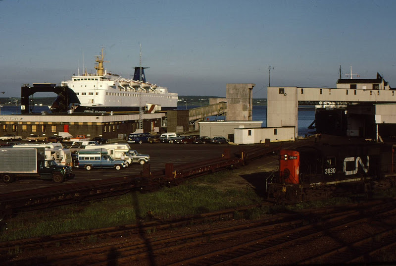 railcar ferries to newfoundland