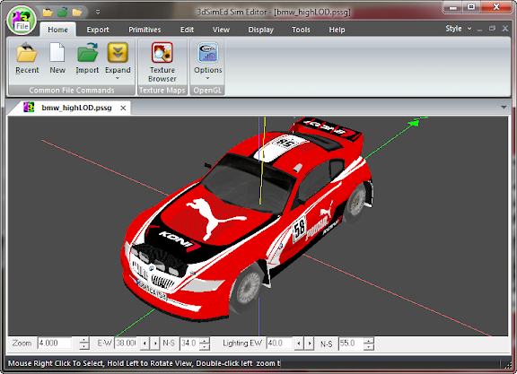 3dSimED Sim Editor v2.17a with SketchUp Import & Export 3dsim
