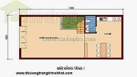 Tư vấn thiết kế nhà phố 6x11m - THI CÔNG TRANG TRÍ NỘI THẤT