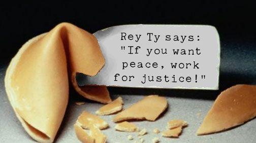 Rey Ty's Fortune Cookie Says...