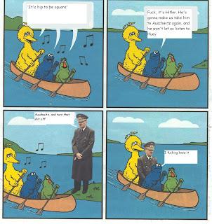 huey hitler comic