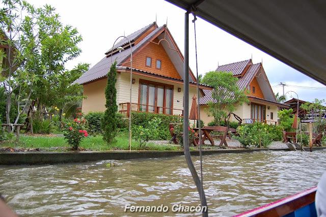 Casas, Amphawa, Tailandia