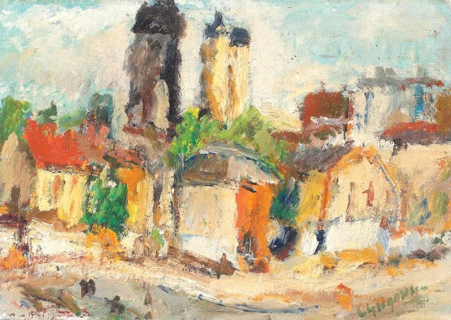 Lucian Grigorescu - Peisaj din Bucureşti