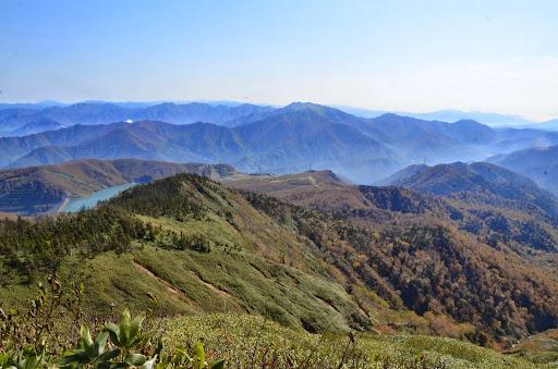 神楽ヶ峰からの眺め