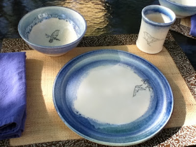 Mishima Bird Table Setting - Lori Buff