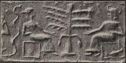 God Wife Asherah Tree Of Life Snakes