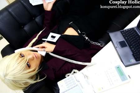 gyakuten saiban 4 / ace attorney apollo justice cosplay - garyu kyouya / klavier gavin