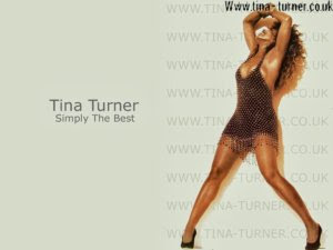 Tina Tuner simply the best