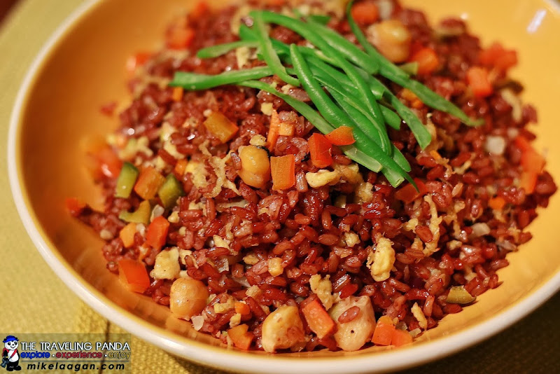 Vegetarian Red Rice