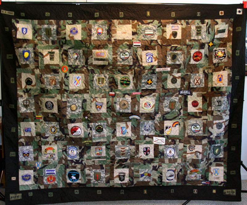 mamaka mills recycled and custom memory quilts military memory