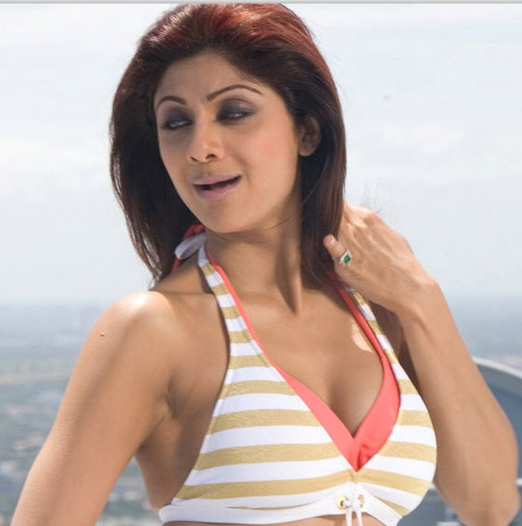 Actress Mix Shilpa Shetty Hot Pics-5876