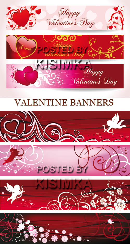 Stock: Valentine banners