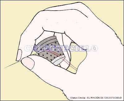 El Rincon De Celestecielo: Puntadas a mano