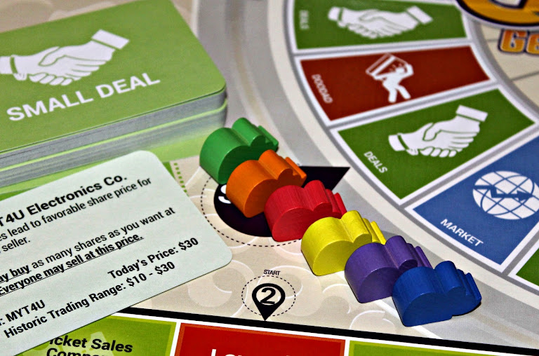 The CASHFLOW game by Rich Dad Poor Dad. A fun way to introduce the concept of money management and fiscal responsibility to your kiddos plus learn a little about investing for yourself, too. Add #CASHFLOW to your next family game night.