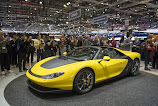 GENEVA 2015 - Pininfarina shows yellow Ferrari Sergio [w/VIDEO]
