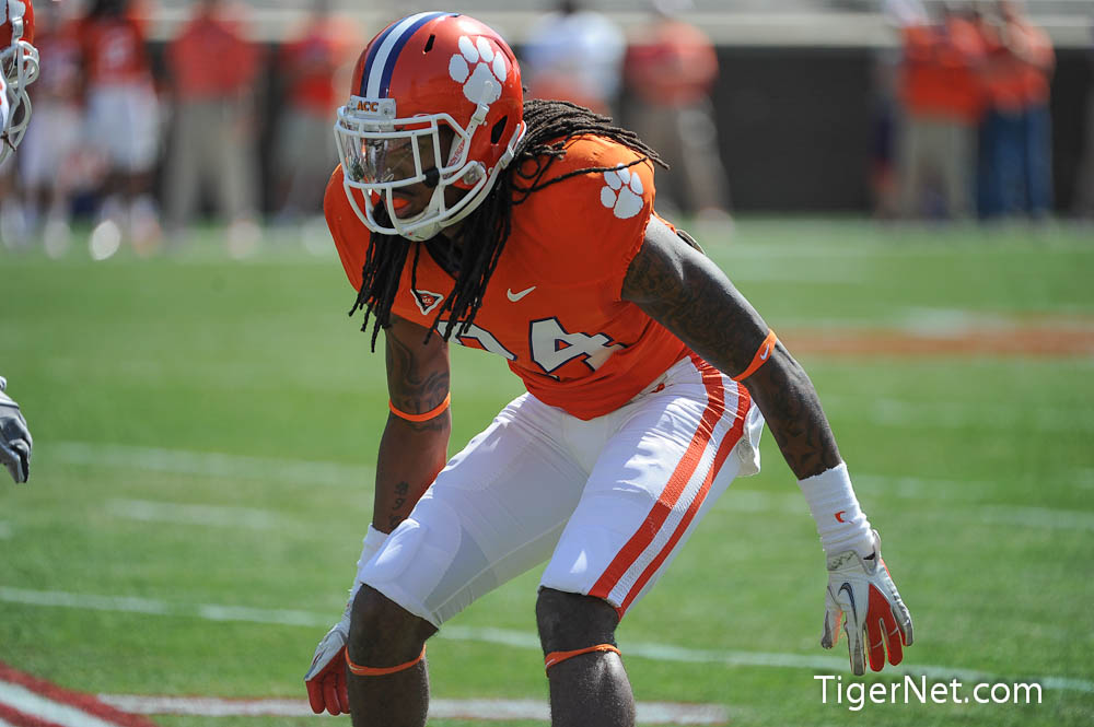 Orange and White Game Photos - 2012, Cortez Davis, Football, Orange and White