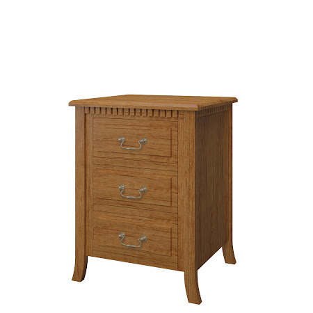 Matching Furniture Piece: Lisbon Nightstand with Drawers, Como Maple