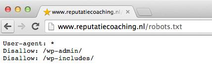 robots.txt van ReputatieCoaching.NL
