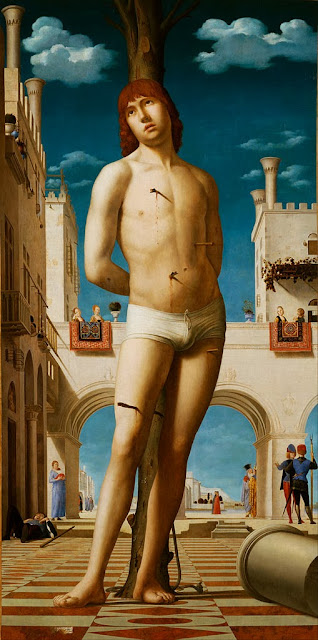 Antonello da Messina - St. Sebastian - Google Art Project