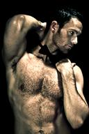 Beauty of Male Muscle Body - Light and Shadow