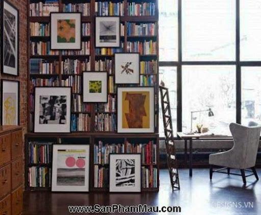 Các mẫu thiết kế nội thất phòng đọc sách P1-15