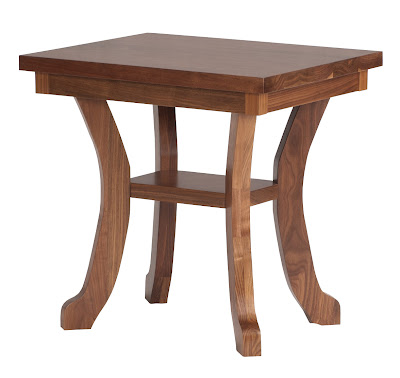 24 X 20 Montrose End Table In Natural Walnut