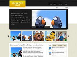 Dynamic-Ville WordPress Theme