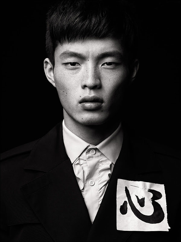 Satoshi Toda @ Red Citizen/MGM by Richard Pier Petit for 'The Fashionisto' W/S 2012.  Styled by Eugene Ong.
