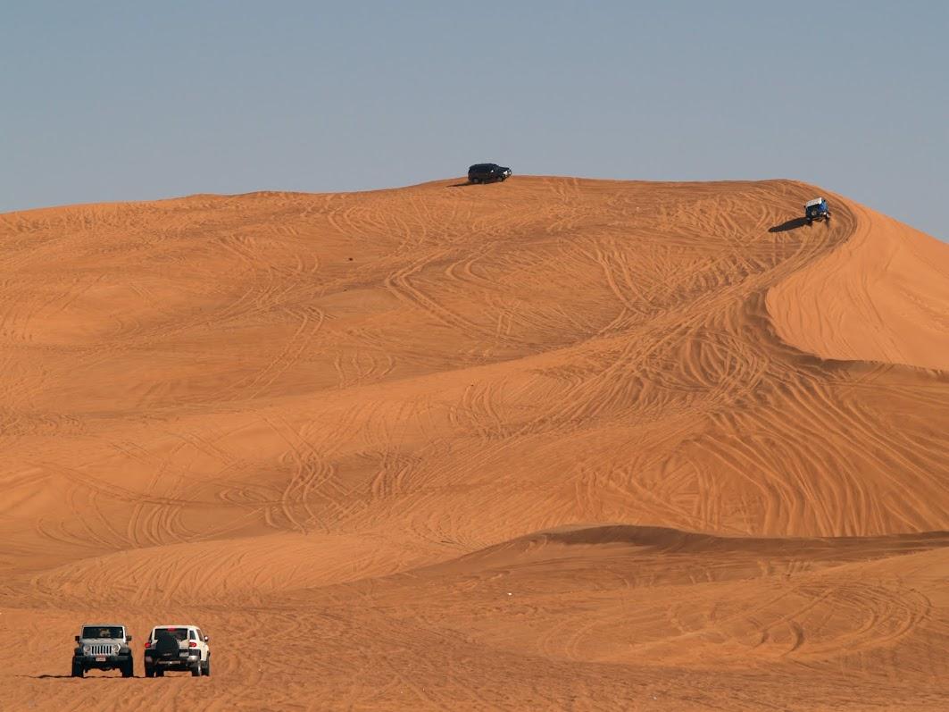 Bidayer, Big Red, dune in UAE