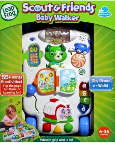 Hộp sản phẩm Xe tập đi và học chữ Scout & Friends Baby Walker