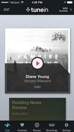 TuneIn Radio Pro v5.1 for iPhone/iPad