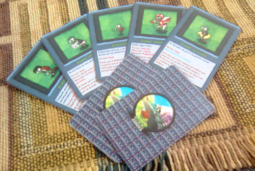 Plants Vs Zombies Juego De Cartas By Me Identi