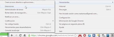 Extensión Chrome Nas Blusens 5