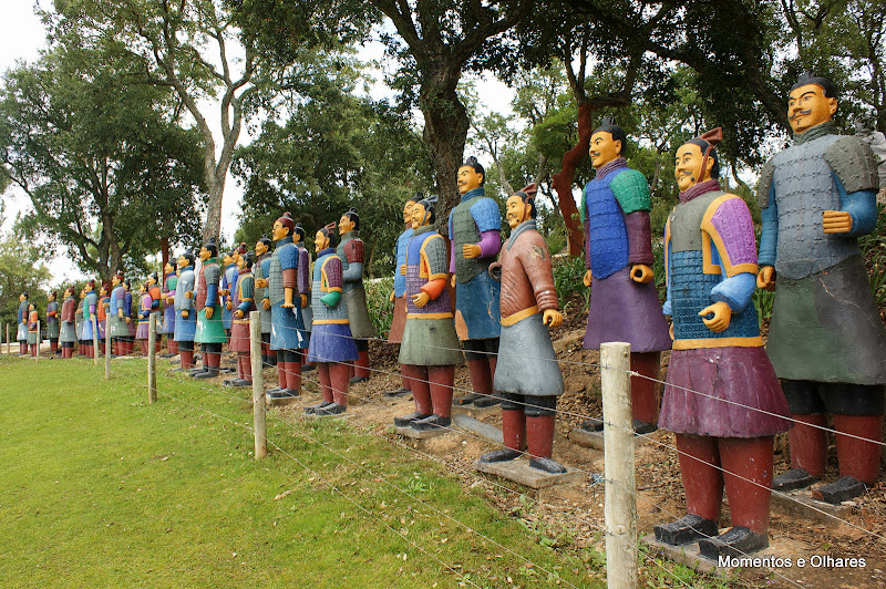 Soldados de Terracota, Quinta dos Lóridos