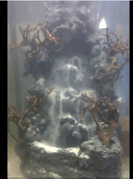 thác cát - suối thác thủy sinh 3006