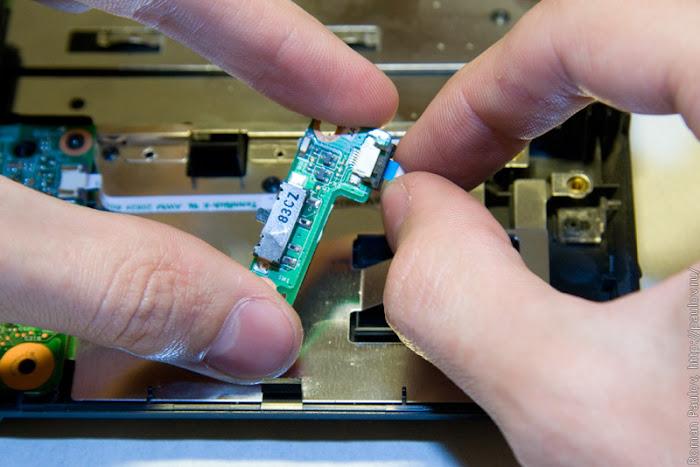 Как разобрать ноутбук Dell Inspiron 1525 42