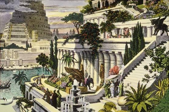 La favola della botte: Giardini Pensili di Babilonia