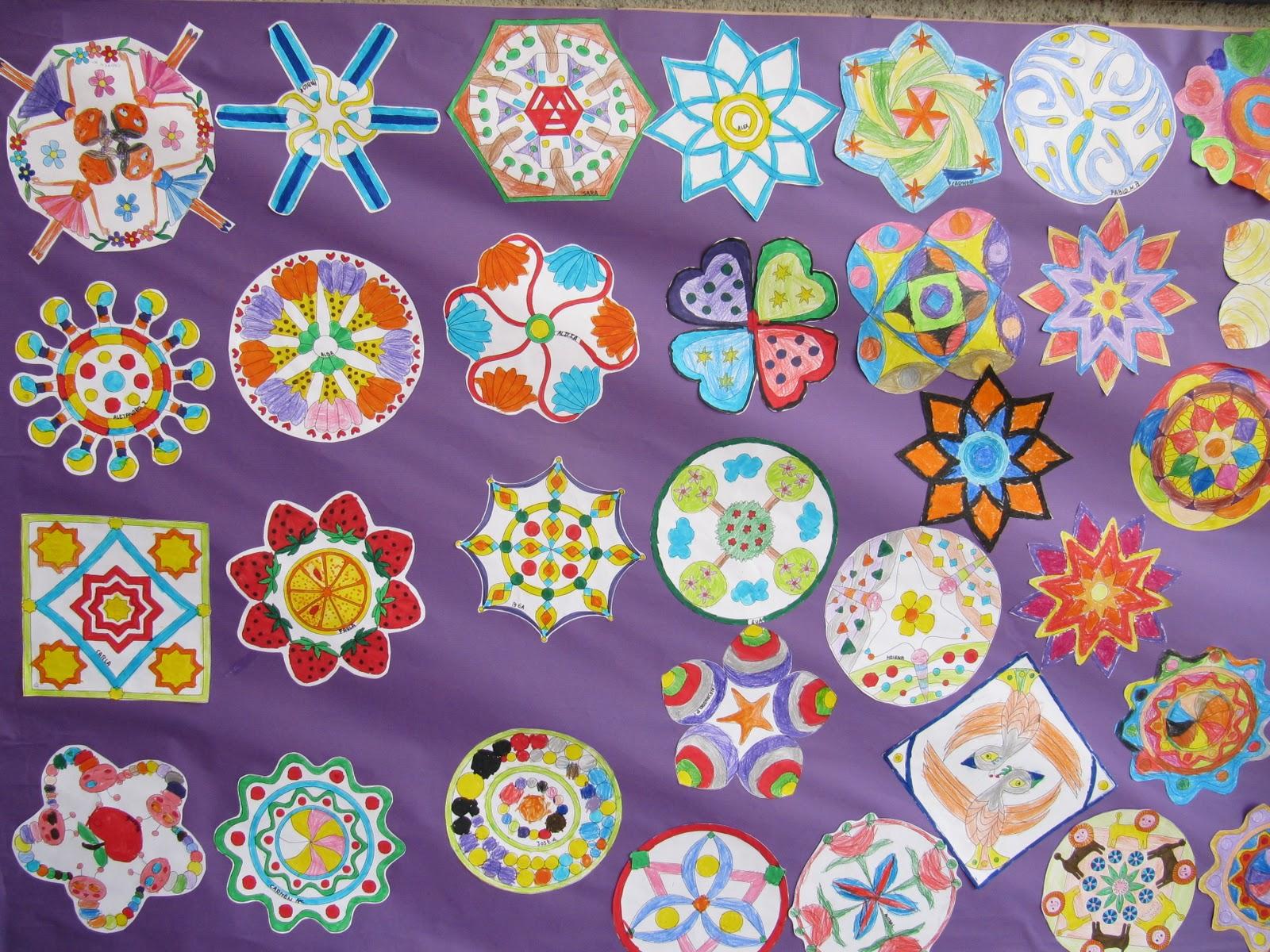 R o experiencias mural mandalas 8 de marzo for Mural mandala