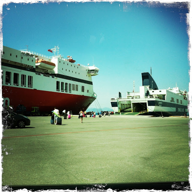 Le ferry Sorrento