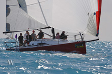 J/111 sailing