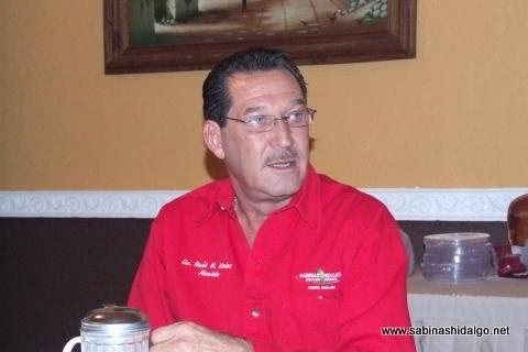 Raúl Mireles Garza, Presidente Municipal de Sabinas Hidalgo