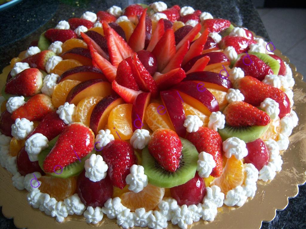 Super deledda's cakes: torta frutta e panna DX77