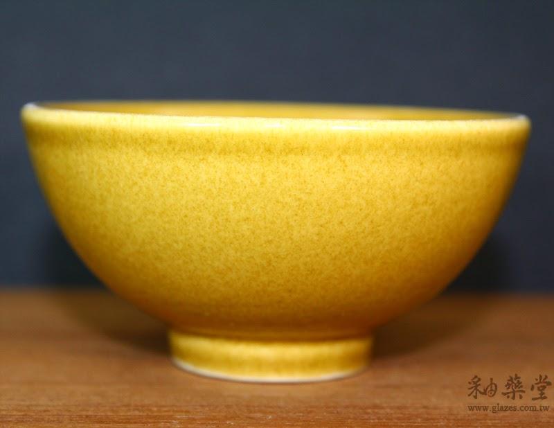 GA02-淡黃綠釉藥