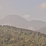 Gunung Pangrango, szczyt wyższy niż Rysy czy Gerlach.