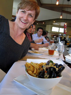 Mussels with Sarah at Scratch
