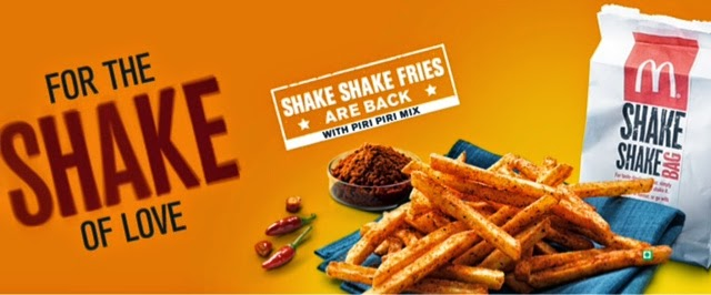 McDonald's Piri Piri Shake Shake Fries