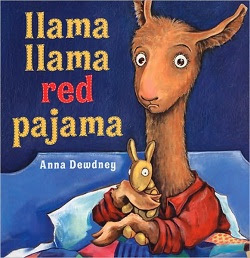 Llama Llama Red Pajama book cover