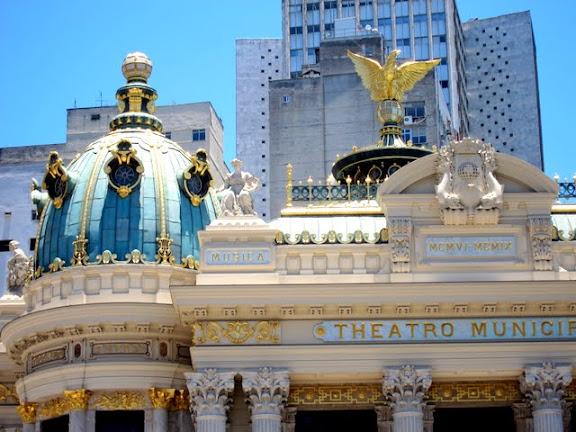 Municipal Theater in Rio de Janeiro Brazil